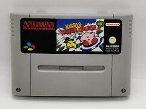 Super Nintendo SNES - Kirby's Dream Course (Modul)