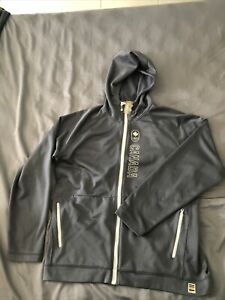 Awesome Canada 2010 Olympics Hudson's Bay Zip Up Jacket Hoodie Grey XL