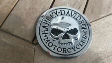 Harley Davidson 3D Emblem Metall verchromt HD Sticker neu