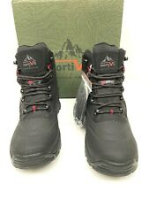 Mens Winter Snow Boots Insulated Waterproof Thinsulate Sz 9 Hiking Work Nortiv8