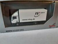 MAN TGL   RS Logistik AG  28816 Stuhr  Auslieferungsfahrzeug Nahverkehr Koffer