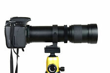 420-800mm Telephoto Lens for SONY Alpha A230 A200 A100 A350 A300 A700 SLR Camera