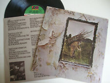 Led Zeppelin IV LP US press 70's Stairway To Heaven