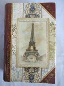 Punch Studio Eiffel Tower Paris Small Trinket Box Looks Like a Book