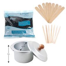 Cirepil - Blue (Hard Wax) - 400gm Kit, includes 100XS 60L Sticks,Wax Pot and Lid