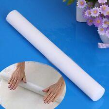 23cm Rollstab für Fondant Teigrolle Knete Marzipan Tortendeko Ausstecher Weiß