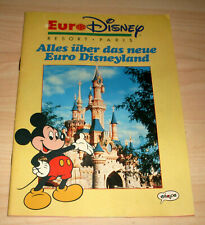 Micky Maus Sonderheft - Euro Disney Resort Paris - Euro Disneyland