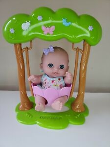 JC Toys Adorable Lil Cutesies Swing and Doll