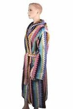 MISSONI SIZE L BADEMANTEL BATHROBE ACCAPPATOIO PEIGNOIR ALBORNOZ 17037