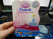 **New** Disney Princess Cinderella Magic Wishes VTech V.Smile Smartridge Game