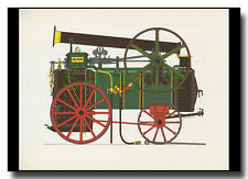 Foster Portable Engine Great Tew 1870 framed picture