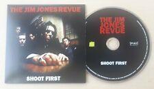 THE JIM JONES REVUE Shoot First 2010 UK 1-track promo CD