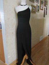 Cache Black Maxi Long Evening Party Gown Dress Size M