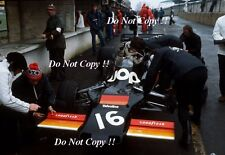 Tom Pryce UOP Shadow DN5 F1 Race of Champions 1975 Photograph 2