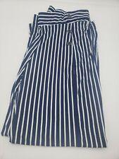 Robert Louis Womens Blue/White Striped Pants Size M