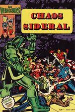 Les Vengeurs N°2 - Chaos Sidéral - Artima Color - Eds. Arédit - 1980