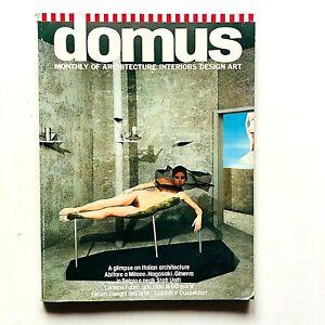 Domus n. 625 febbraio 1982 Rivista Architettura Design Gabetti e Isola Boccioni