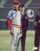 Tony Perez Jsa Cert 1/1 Original Image 8x10 Photo Authentic Autograph