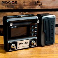 Mooer GE100 Guitar Multi Processor Effects Pedals 180s Loop Distortion 100-240V