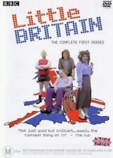 LITTLE BRITAIN DVD=THE COMPLETE FIRST SERIES=2 DISC SET=REGION 4=NEW AND SEALED