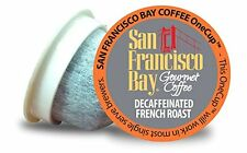 12ct Decaf French Roast San Francisco Bay Coffee OneCup  For Keurig K-cup brewer