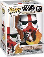 Star Wars The Mandalorian 'Incinerator Stormtrooper' Funko POP! Vinyl #350 NEW
