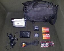 Jvc Gr-Dvl505u MiniDv Camcorder With Bag and Accessories