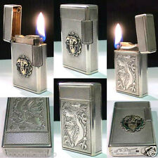 BRIQUET Ancien * ST DUPONT - Drago - Indochine - RARE * Wick LIGHTER Feuerzeug