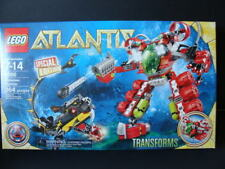 NEW LEGO ATLANTIS Undersea Explorer 8080 Robot Sea Serpent Rover Transforms NIB
