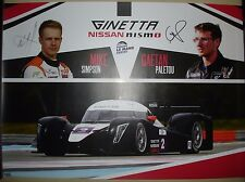 Le Mans WEC ELMS - Silverstone 2015 2ND In LMP3 LNT Ginetta Nissan Nismo Poster