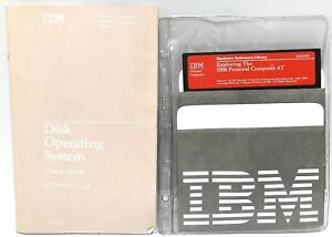 """IBM Personal Computer Hardware Reference Library Version 1 5"""" Floppy 1st ED book"""