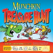 Steve Jackson Games: Munchkin Treasure Hunt (New)