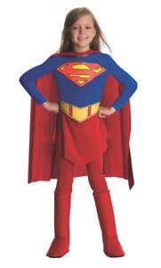 Le Ragazze Supergirl Costume Per Bambini Supereroe DC Comic Book Day Ragazzi Costume