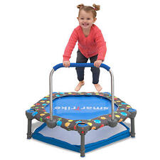 smarTrike 3-in-1 Child Training Trampoline Ball Pit Pool Toddler Infant Learning