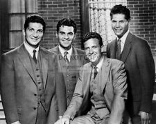 """""""THE UNTOUCHABLES"""" CAST FROM ABC SHOW ROBERT STACK ELIOT NESS 8X10 PHOTO (DA964)"""