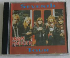 IRON MAIDEN SEVENTH TOUR CD MADE IN BRAZIL LIVE TAMPA USA '88 NUMBER POWERSLAVE