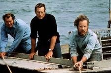 1975 Jaws Movie Roy Scheider And Richard Dreyfuss 8x10 Picture Celebrity Print