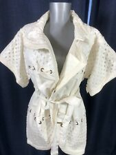 Louis Vuitton FASHION STATEMENT jacket coat thick sequined embellished AWESOME M