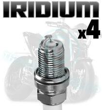 4x AGA Upgrade Iridium Spark Plugs for YAMAHA 1200cc V-Max 1200 91->02 D8RTCI-9
