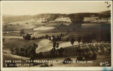 Oakland Road Near Keyser Ridge MD Real Photo Postcard rpx