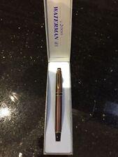 Waterman  Expert  II  Copper Brown Fountain Pen Medium Pt New In Box Expert 2000