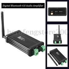 2x50W 50W+50W Digital Bluetooth 4.0 Audio Amplifier HIFI TDA7492P NE5532 + Case