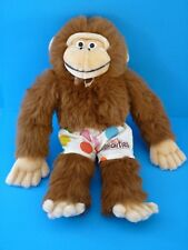 Nestle Smarties Advertising Promotional Item Monkey Plush Stuffed Animal RARE!
