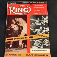 The Ring Magazine May 1960 Perez Becerra Cover