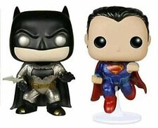 Dawn of Justice Metallic Batman VS Superman Funko Pop Vinyl 2 Pack Figures