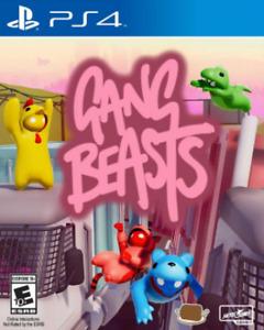 Gang Beasts (Sony Playstation 4, 2017)