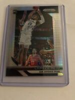 2018-19 Panini Prizm HYPER SILVER Refractor Parallel CHIMEZIE METU RC Spurs