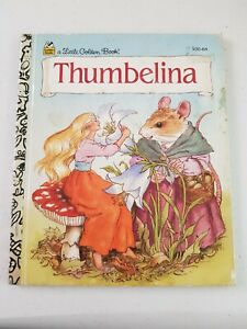 Little Golden Book - Thumbelina 1995 HC