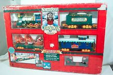 North Pole Christmas Express Train Complete Works Great Excellent Condition FS