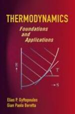 Thermodynamics: Foundations and Applications (Dover Civil and Mechanical Engine